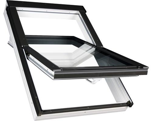 Fenêtre à ouverture par rotation Aron PVC 66x98cm