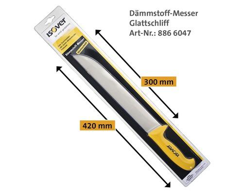 Couteau pour matériau isolant ISOVER avec lame lisse-0