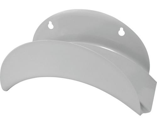 Porte-tuyau flexible mural acier