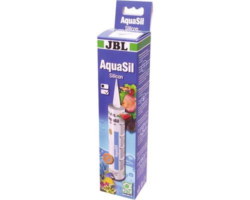 Silicone d''aquarium JBL AquaSil transparent 310ml