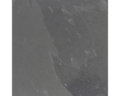 Carrelage de sol noir ardoise 60x60cm