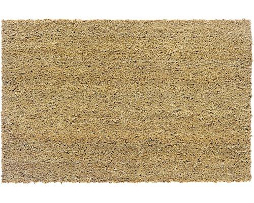 paillasson en velours fibre de coco naturel de 20 mm d. Black Bedroom Furniture Sets. Home Design Ideas