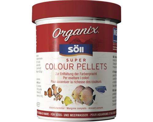 Nourriture en pellets Söll Organix Super Colour Pellets 130ml