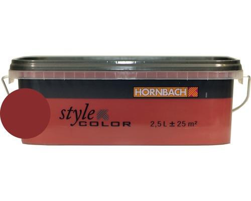 Peinture pour murs StyleColor rouge 2,5 l