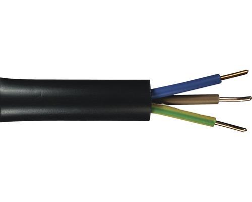 Câble souterrain NYY-J 3x1,5mm² 50m noir