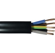 Câble souterrain NYY-J 5x4 mm² noir, marchandise au mètre sur mesure disponible dans votre magasin Hornbach-thumb-0