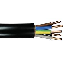 Câble souterrain NYY-J 5x6 mm² noir, marchandise au mètre sur mesure disponible dans votre magasin Hornbach-thumb-0