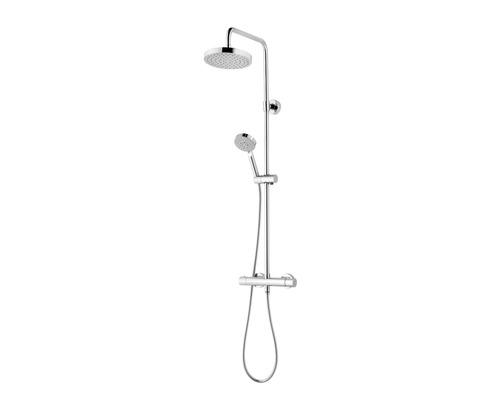 Duschsystem Schulte Modern DuschMaster Rain III D969260 02 chrom mit Thermostat