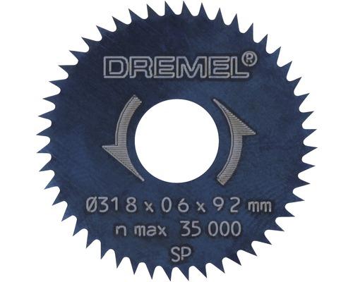 Lame de scie circulaire Dremel 31,8 mm (546)