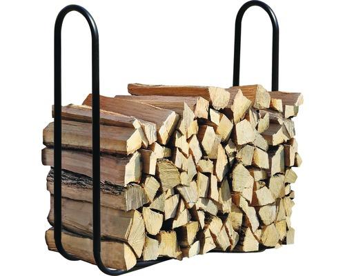 Patin d''empilage de bois de cheminée 122x25x103.1 cm