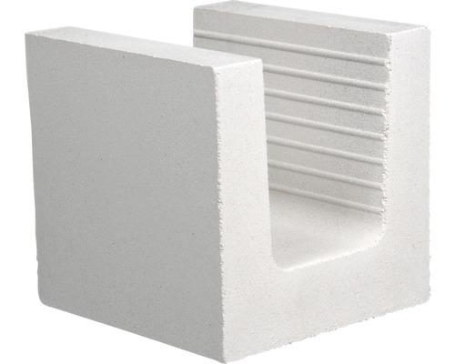 Brique silico-calcaire en U KS 240x240x238 8DF