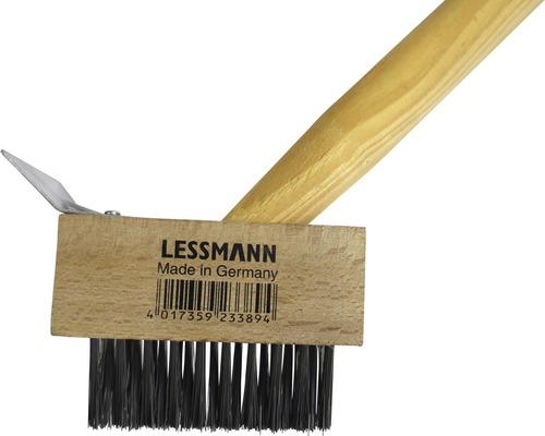 Brosse à désherber Lessmann avec manche 2 en 1