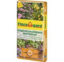 Kübelpflanzenerde Mediterran Floragard 40 L-thumb-0