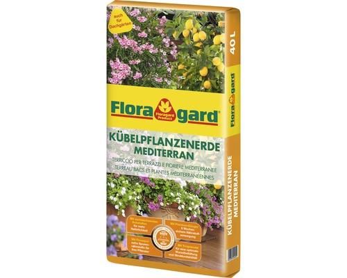Kübelpflanzenerde Mediterran Floragard 40 L