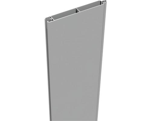 Profilé simple Lumino 180x15cm, gris argent