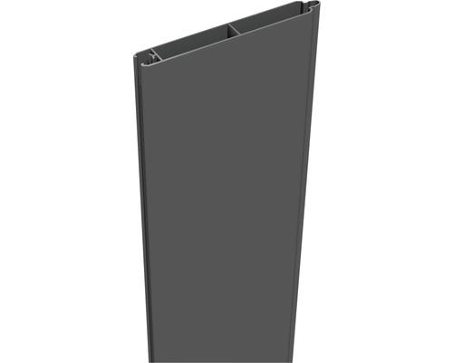 Profilé simple Lumino 180x15cm, anthracite