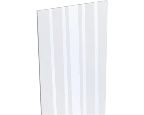 Designeinsatz Glas 180 x 15 cm