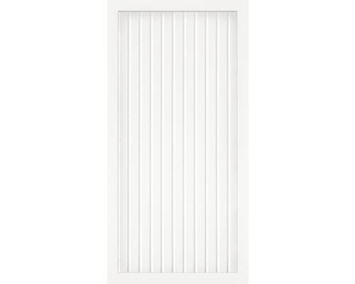 Élément principal BasicLine type A 90x180 cm, blanc