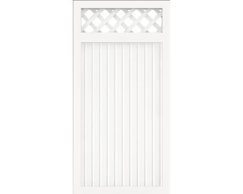 Élément principal BasicLine type C 90x180 cm, blanc