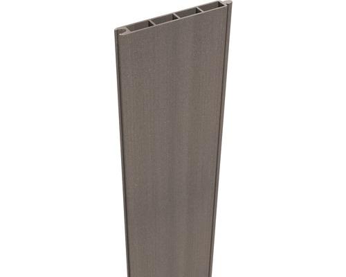 Profilé simple Flex 180 x 15cm, brun