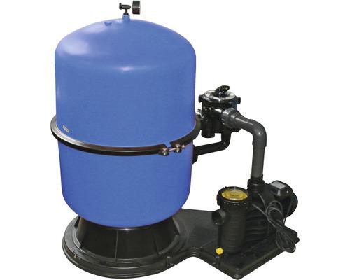 Système de filtre à sable 11 m³/h, avec une cuve divisée