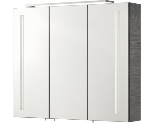 Spiegelschrank LG 80 FACKELMANN Pinie ant. 80x68 cm IP 20
