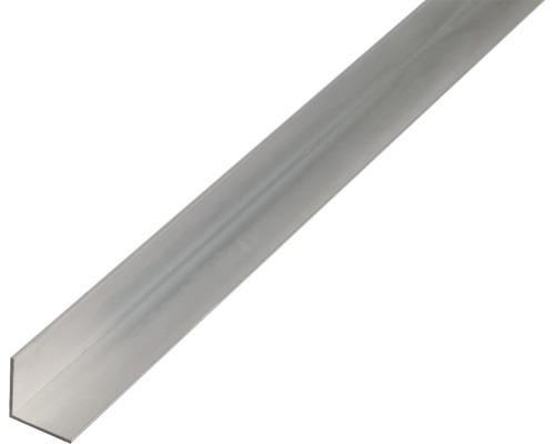 Cornière en aluminium lisse isocèle 30x30x1.5mm, 2m