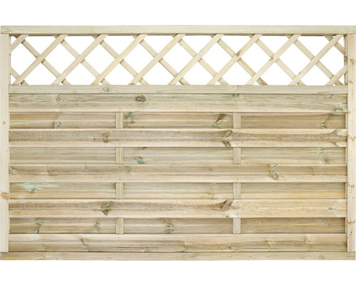 Vorgartenzaun Molina 180 x 120 cm, kesseldruckimprägniert