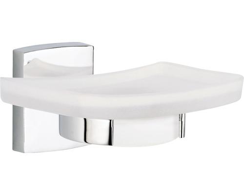 porte savon avec support klaam sans percer chrom hornbach luxembourg. Black Bedroom Furniture Sets. Home Design Ideas