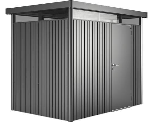 Gerätehaus HighLine H2, 257 x 177 cm, grau-metallic - HORNBACH Luxemburg