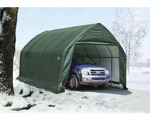 Garage simple in-a-box 390x610cm, vert