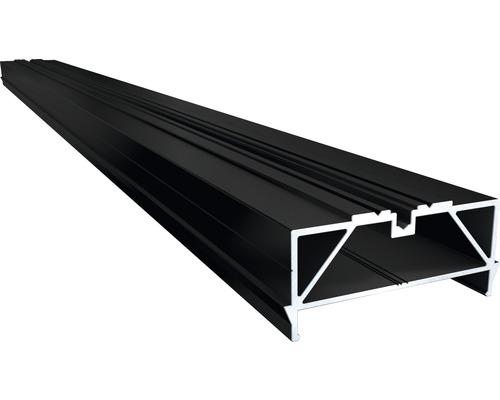 Soubassement TWIXT-Isostep aluminium 30x64x4000 mm