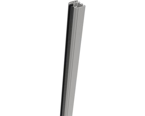 Belfort Rail de serrage 18x4x3.5 cm, gris argent