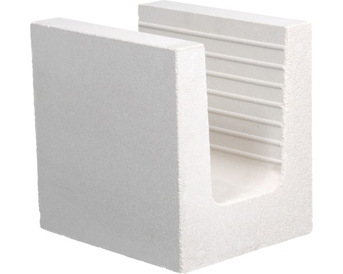 Brique silico-calcaire en U KS 240x200x238 7DF