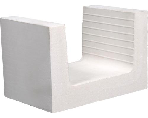 Brique silico-calcaire en U KS 240x365x238 12DF