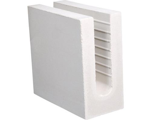 Brique silico-calcaire en U KS 240x115x238 4DF