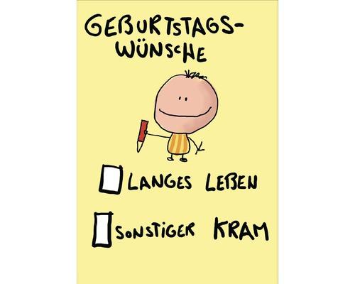 Postkarte Geburtstagswunsche 10 5x14 8 Cm Hornbach Luxemburg