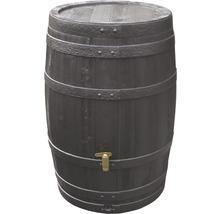 Tonneau de récupération d''eau de pluie 4rain Vino 250 litres, marron foncé-thumb-0