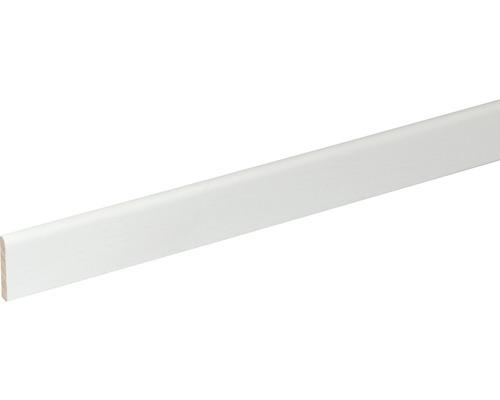 Plinthe SF260 hêtre blanc laqué 5x29x2400 mm