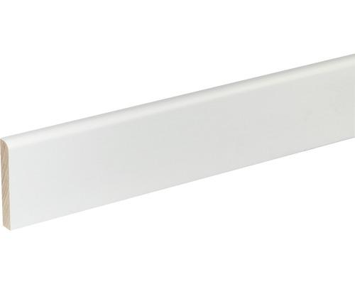 Plinthe SF261 hêtre blanc laqué 9x60x2400 mm