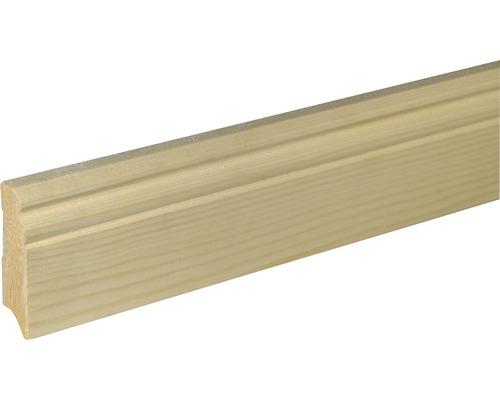 Plinthe SF270 épicéa/pin brut 18x70x2400 mm