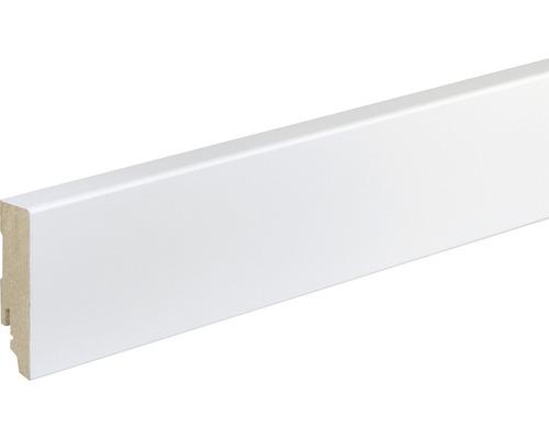 plinthe fu87l mdf blanc laqu 19x70x2400 mm hornbach luxembourg. Black Bedroom Furniture Sets. Home Design Ideas