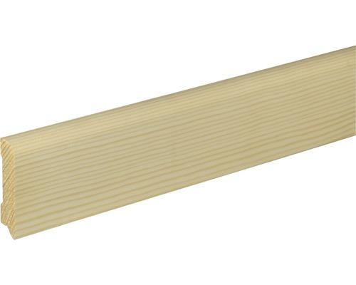Plinthe SF265 épicéa/pin brut 13x60x2400 mm