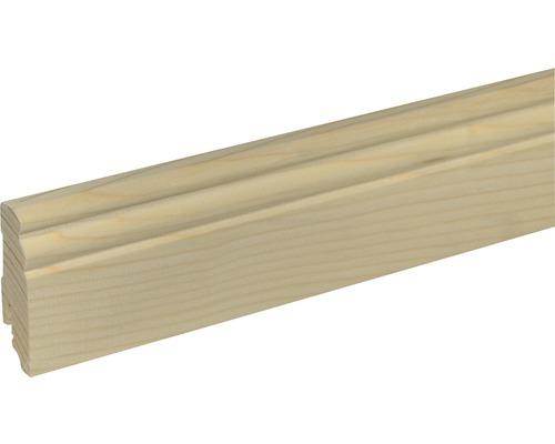 Plinthe SF277 épicéa/pin brut 19x70x2400 mm