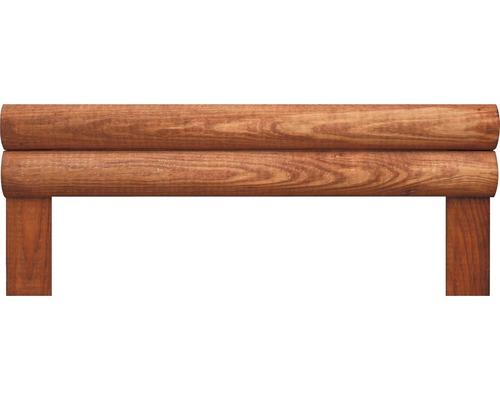 Bordures pour plates-bandes, droites, 50x20 cm, nature