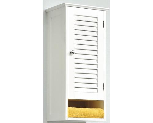 Armoire suspendue Pelipal Jasper largeur 68x32x22,5cm blanc démontée droite