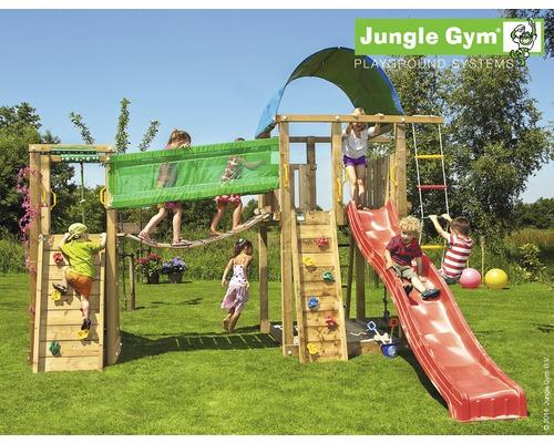 Klettergerüst Jungle Gym : Jungle gym spielturm chalet« gesamtmaße b t h