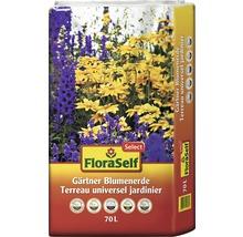 Gärtnerblumenerde FloraSelf Select, 70 L-thumb-0