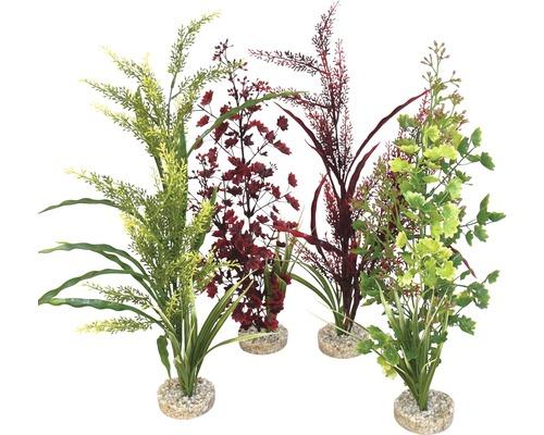 Plante en plastique Forest Sicily 45 cm, couleurs assorties