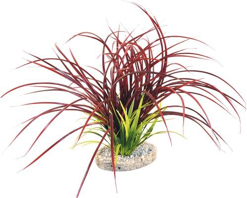 Sydeco Plante en plastique Fan Grass 30 cm